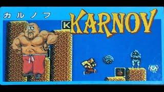NES Longplay Karnov / ファミコン カルノフ & おまけ
