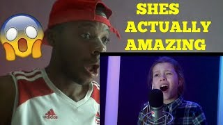 Courtney Hadwin - MAN IN THE MIRROR - Michael Jackson Cover-REACTION