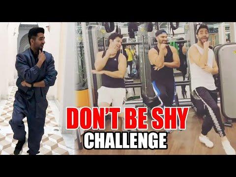 Varun Dhawan, & Arjun Kapoor Dance On DontBeShy Challenge for BALA Mp3