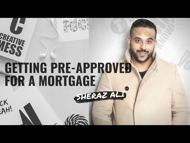 Getting pre-approved for a mortgage in Winnipeg Manitoba.