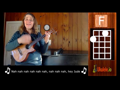 Easy Ukulele Songs - Hey Jude - 21 Songs in 6 Days: Learn Ukulele the Easy Way