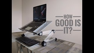 Executive Office Solutions Laptop Stand: Portable, Multipurpose, & Ergonomic On A Budget