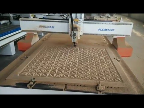 PHILICAM high speed MDF engraving machine for Indoor decorations and furniture