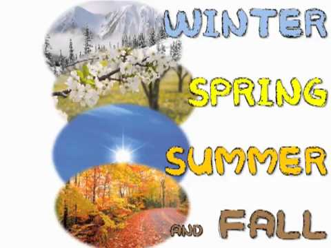 4 Seasons in a Year (kids song)..flv - YouTube
