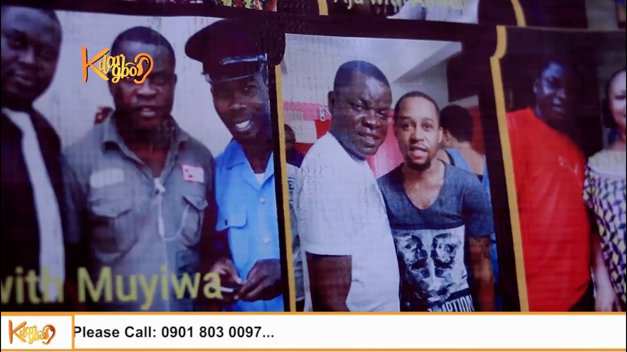 One Year After, Family, Freinds Remembers Late Nollywood Popular Actor & Scriptwriter,Gbenga Aju