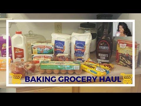 BAKING GROCERY HAUL