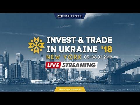 Invest & Trade In Ukraine '18, Transatlantic, New York
