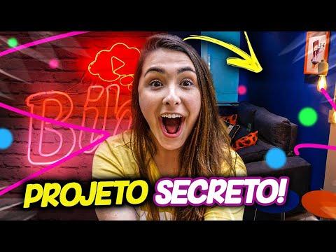 REVELANDO O PROJETO SECRETO!
