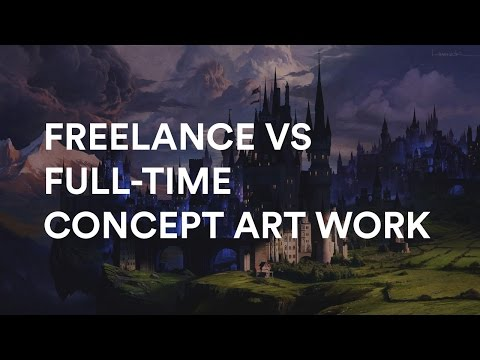 Aaron Limonick and Maciej Kuciara about Freelance vs Full-time Concept Art Work