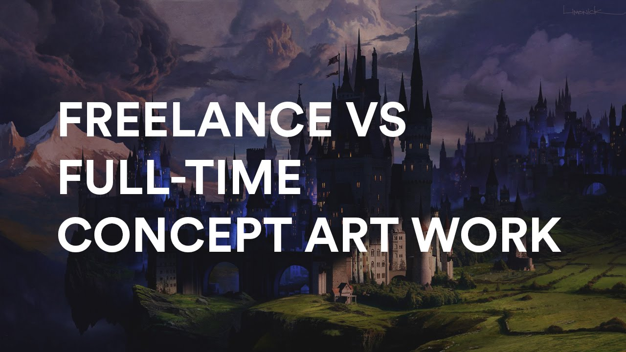 Aaron Limonick And Maciej Kuciara About Freelance Vs Full Time Concept Art Work