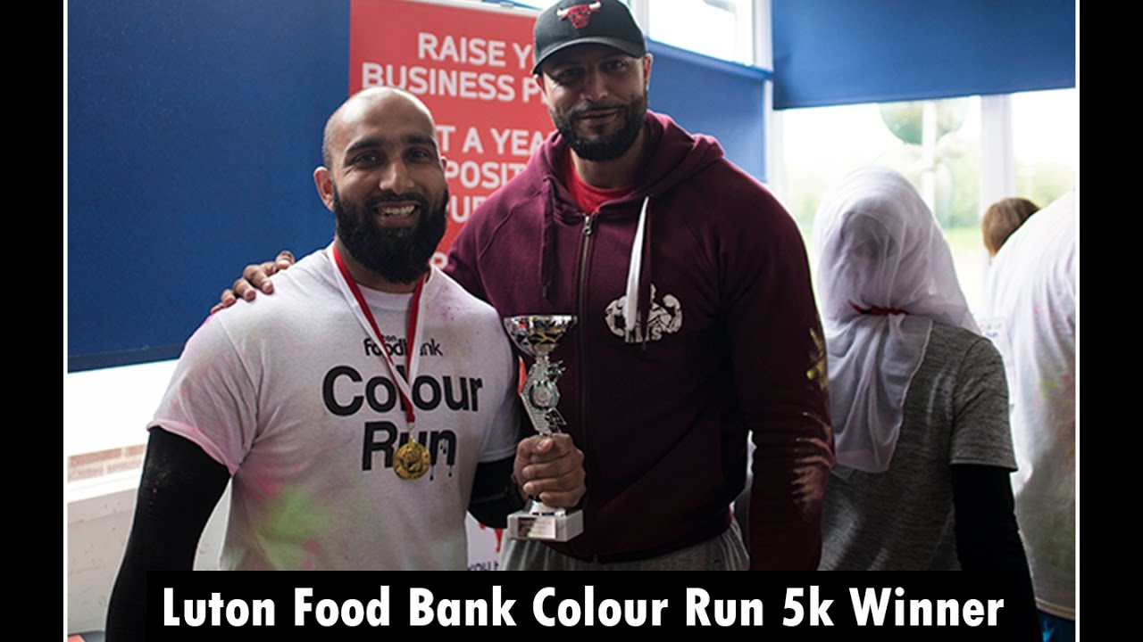 Lutons Most Strongest Luton Foodbank 5k Winner Shahed Koyes Tries The Sled Sprint