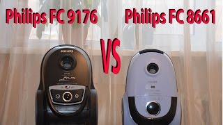 Philips FC9176 и Philips FC866.Обзор и сравнение двух пылесосов.