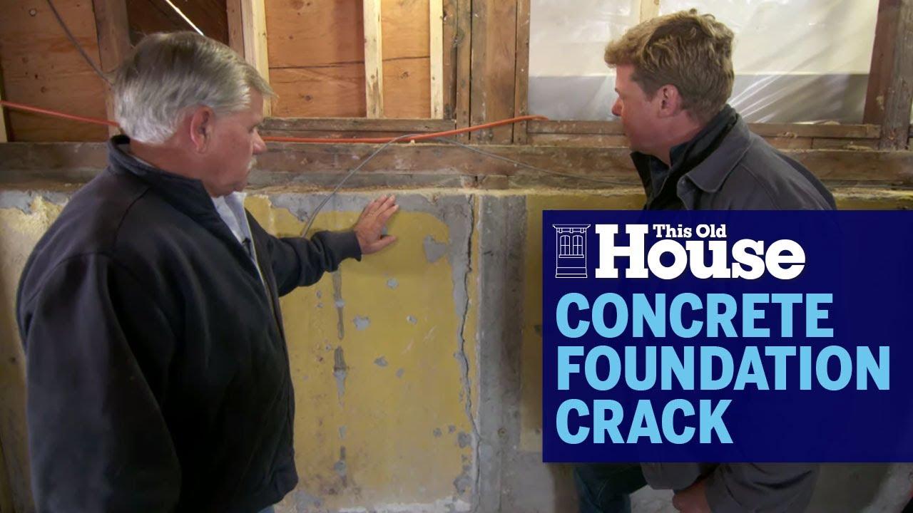 How To Fix A Concrete Foundation