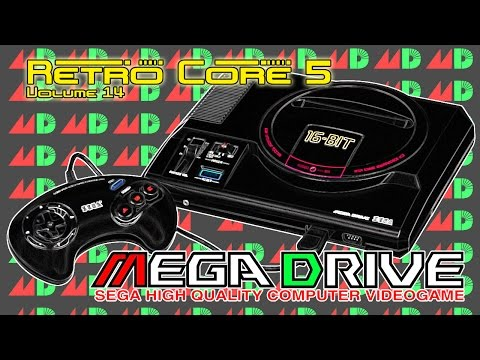Retro Core 5 - Vol:14 - The Sega Mega Drive (Genesis) 60fps