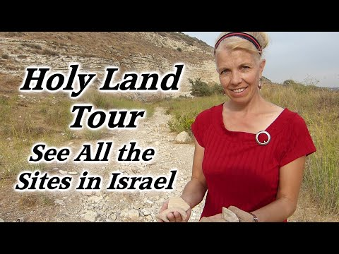 Holy Land Tour Of All The Major Bible Sites Of Israel With Lovely Music And Narration