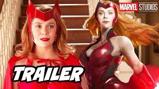 Avengers Wandavision Trailer Super Bowl 2020 - Marvel Phase 4 Easter Eggs Breakdown