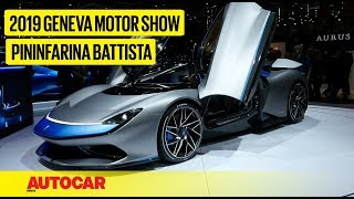 Pininfarina Battista I First Look Preview I Geneva Motor Show 2019 I Autocar India