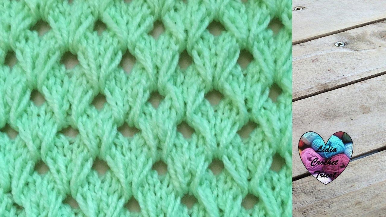 Tricot merveilleux point tricot maravilloso punto tejido - Tejado a dos aguas ...