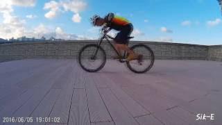 MTB기술: 앞바퀴 제대로 드는 방법!!