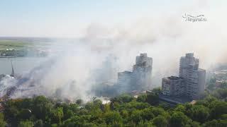 Ростов на Дону  Пожар 21.08.2017