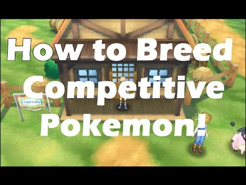 How to breed competitive pokemon in Sun and Moon