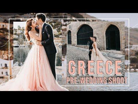 GREECE PRE-WEDDING SHOOT VLOG | MONGABONG