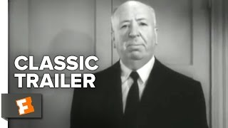 Psycho Official Trailer #1 - Martin Balsam Movie (1960) HD