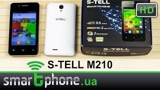 s-TELL M210 - Обзор. Доступный Android