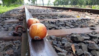 EXPERIMENT: Train VS Apple Railway of Bangladesh