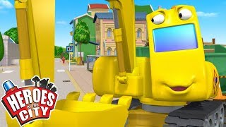 Heroes of the City - Digsy Helps Out | Cartoons For Kids | Vehicles For Kids | Car Cartoons