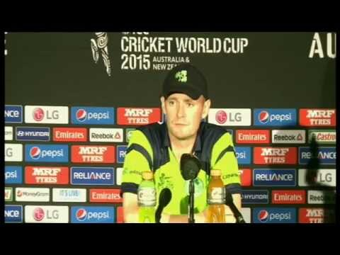Live Post Match Press Conference : IRELAND VS UNITED ARAB EM