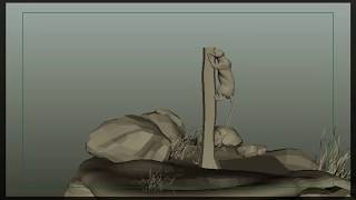 Tiger Animation | Locomotion | Quadruple | 4 Legged | Creature