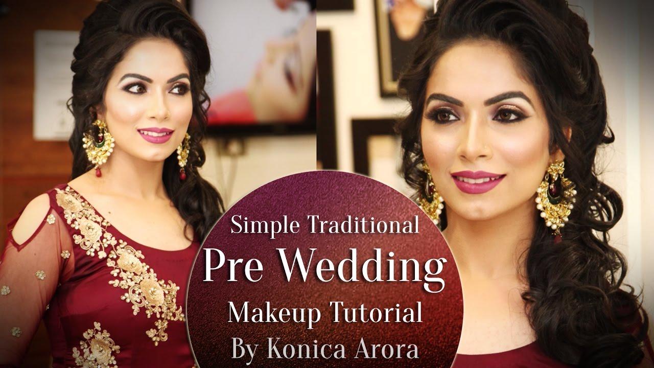 Simple Traditional Pre Wedding Makeup Tutorial
