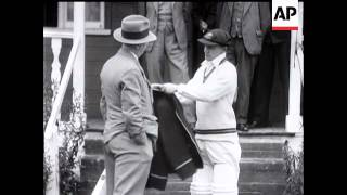 Don Bradman Talks to Movietone
