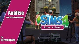 ANÁLISE - THE SIMS 4 - RUMO A FAMA - PACOTE DE EXPANSÃO