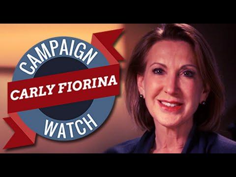 Campaign Watch: Carly Fiorina
