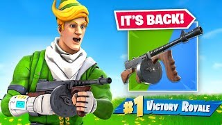 Fortnite Actually Brought the Drumgun Back...