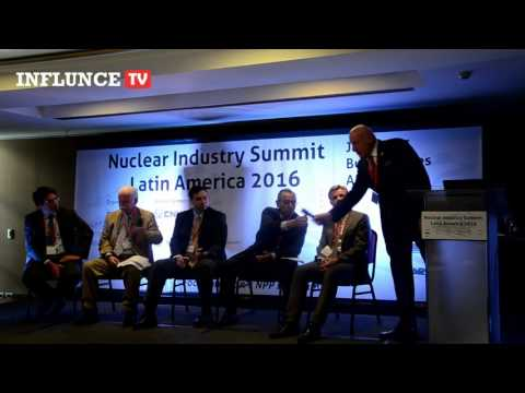 Nuclear Industry Summit Latin America 2016   InforValue   Panel Discussion