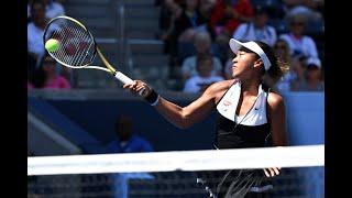 Naomi Osaka vs. Magda Linette | US Open 2019 R2 Highlights