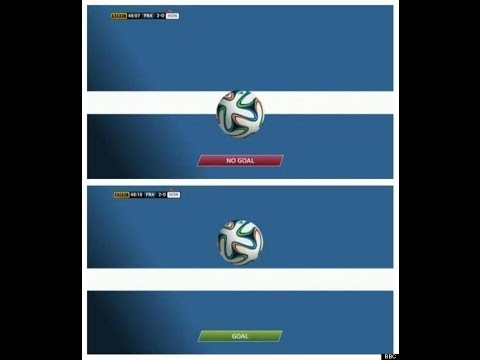 "Jonathan Pearce - Goal line Technology ""The biggest controversy in Brazil 2014 !"" France vs Honduras"