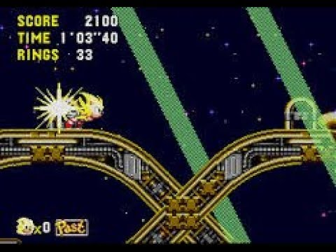 Sonic CD How To Turn Into Super Sonic