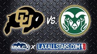 Colorado vs Colorado State - Rocky Mountain Lacrosse D1 Semifinal