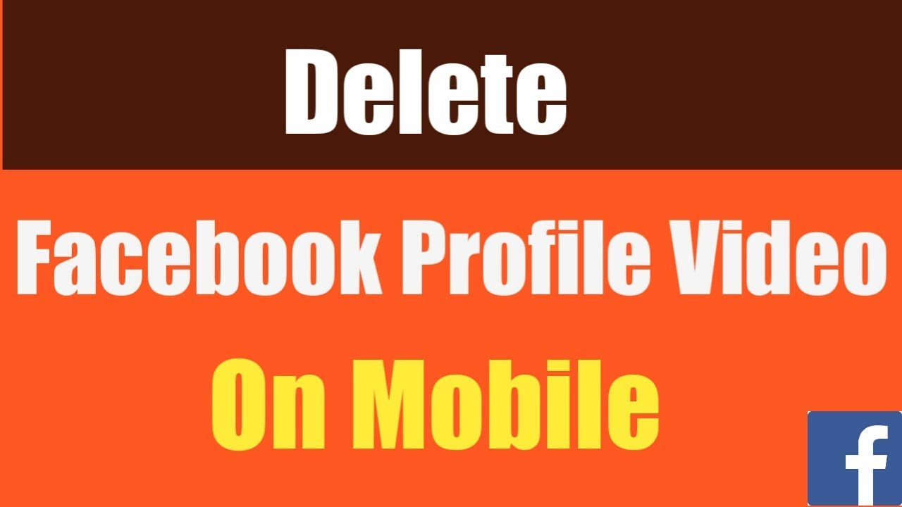 How To Delete Facebook Profile Video On Mobile | Delete Profile Video On Facebook Android