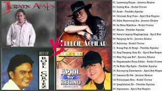 Jerome Abalos,  Roel Cortez, Freddie Aguilar, April Boy Regino NOnsTOp \\ OPM Love Songs 2019