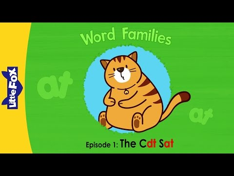 Word Families 1: The Cat Sat | Level 1 | By Little Fox