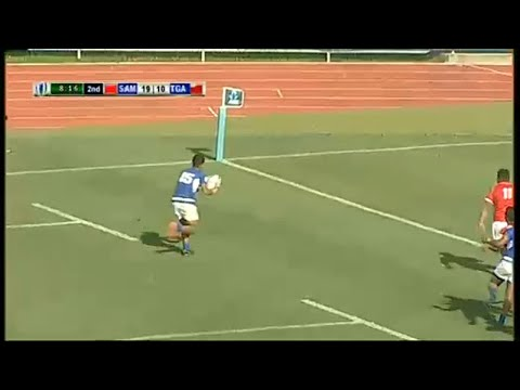 Samoa bright star Ene touches down - World Rugby Pacific Challenge