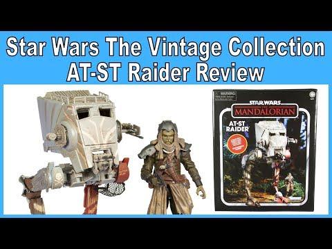 "STAR WARS the vintage collection KLATOOINIAN RAIDER mandalorian 3.75/"" at-st"