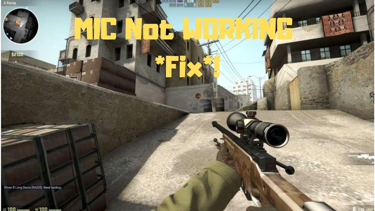 How to fix Mic not working in csgo 2018!