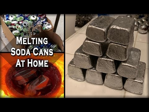 melting-aluminum-cans-at-home---easy-diy-recycling-process