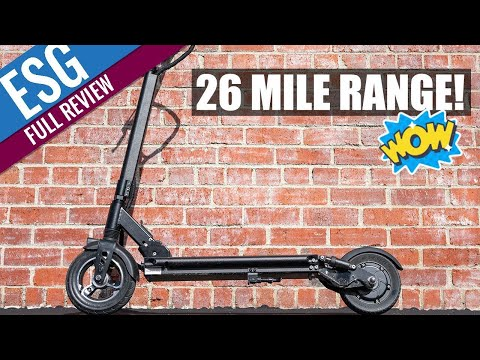 Fluid Freeride Horizon Review - 26 Mile Tested Range at 24 MPH!